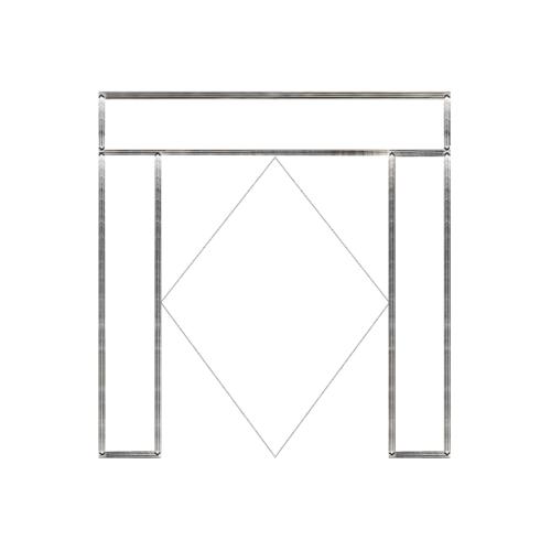 MAZTERDOOR วงกบประตู    ขนาด 240x265  cm. SET 4