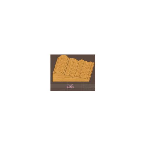 MAZTERDOOR ไม้เปอร์เซียM.1503 บัวซับวงกบ ขนาด 1x4x200 cm ไม้เปอร์เซียM.1503 บัวซับวงกบ ขนาด 1x4x200 cm