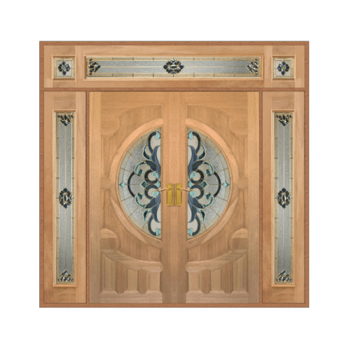 MAZTERDOOR เชท 4  ประตูไม้สยาแดง  ขนาด 240x265 cm. Vanda-03