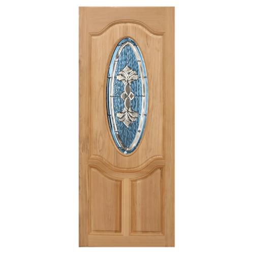 MAZTERDOOR ประตูไม้นาตาเซีย  ขนาด 120x200 cm. ORCHID-09