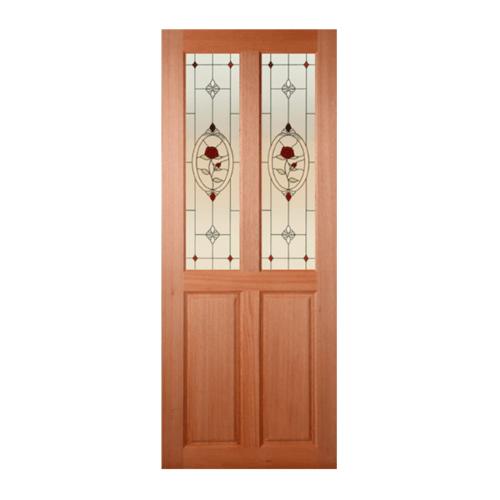 MAZTERDOOR ประตูกระจกสยาแดง ขนาด  70x180 cm. SS-02/3