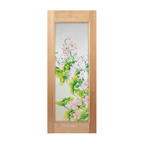 MAZTERDOOR ประตูไม้นาตาเซีย ขนาด 80x180 cm.  MASTER-002