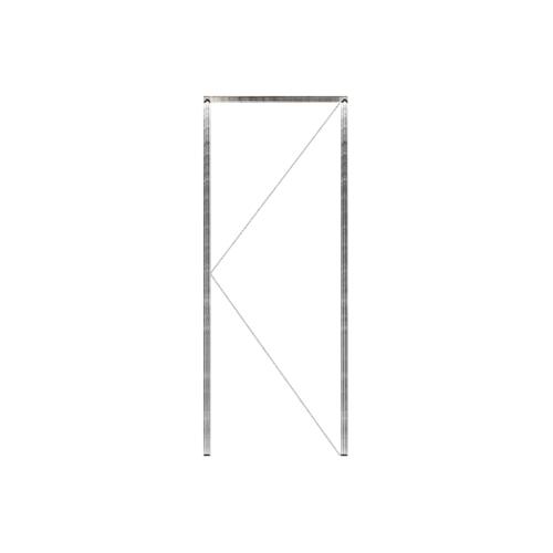 MAZTERDOOR วงกบประตูไม้เต็ง  ขนาด 40x200 ซม.