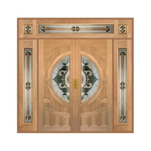 MAZTERDOOR เชท 4 ประตูไม้นาตาเซีย 240 x 245 ซม.  Vanda-01