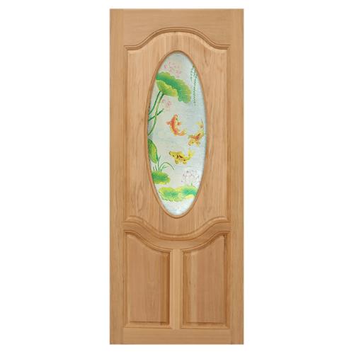 MAZTERDOOR ประตูกระจกไม้จาปาร์การ์  120x200 cm. MASTER-V01
