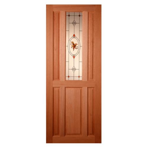 MAZTERDOOR ประตูกระจกสยาแดง  70x180 cm. SS-01/2