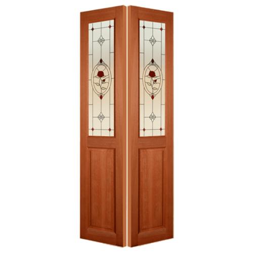 MAZTERDOOR ประตูกระจกสยาแดง ขนาด 70x180 cm.  SS-01/3