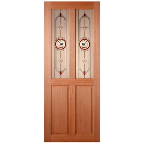 MAZTERDOOR ประตูกระจกสยาแดง  70x180 cm. SS-02/1