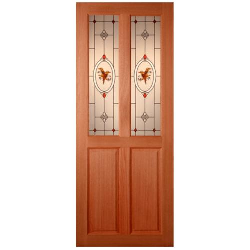 MAZTERDOOR ประตูกระจกสยาแดง  70x180 cm.  SS-02/2