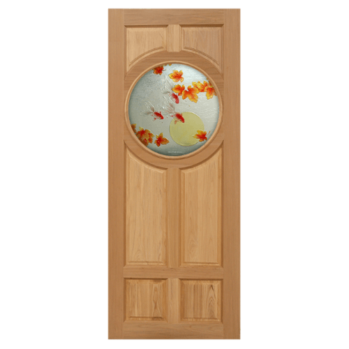 MAZTERDOOR ประตูไม้สยาแดง 90x200 cm.  Master-C01