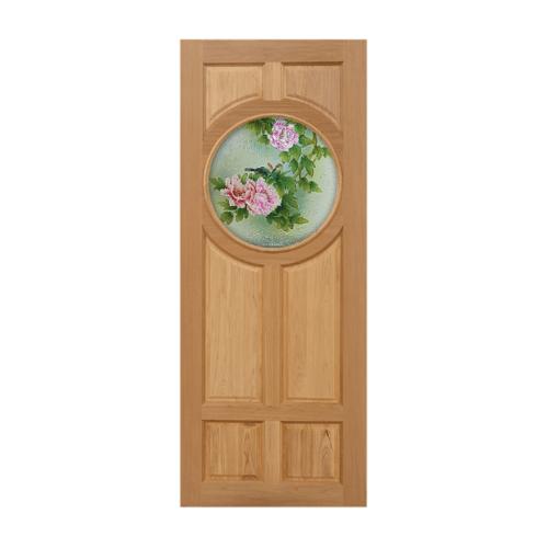 MAZTERDOOR ประตูไม้สยาแดง 90x200 cm.  Master-C02