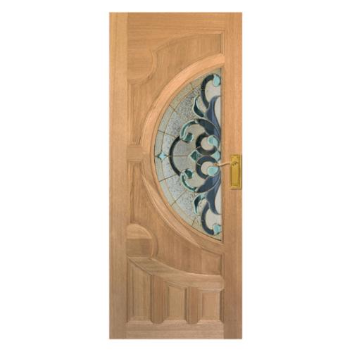Masterdoors ประตูไม้สยาแดง ขนาด100x200 cm. Vanda-03