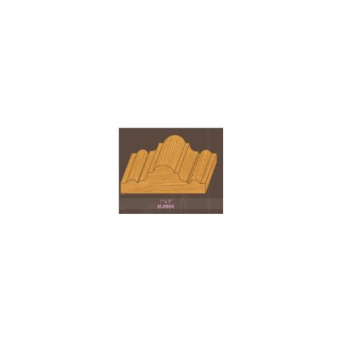 MAZTERDOOR คิ้วตกแต่ง M.0904 เปอร์เซีย (จั่ว) ขนาด 1x3x2.5 cm. คิ้วตกแต่ง M.0904 เปอร์เซีย (จั่ว) ขนาด 1x3x2.5 cm.