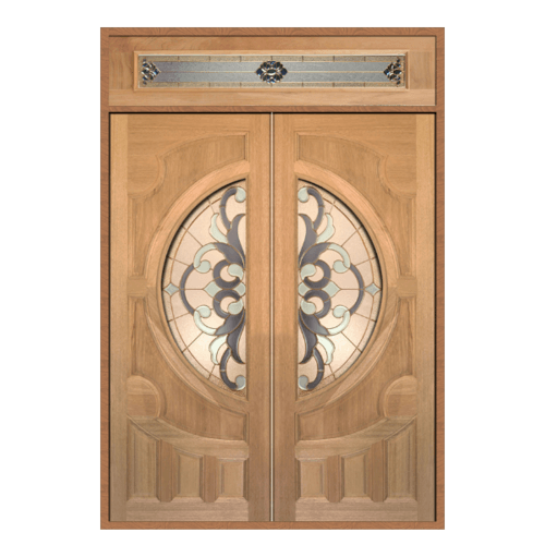 MAZTERDOOR Set 2  ประตูกระจกไม้จาปาร์การ์  ขนาด 160x240 Vanda-03