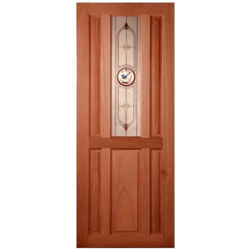 MAZTERDOOR ประตูกระจกสยาแดง   ขนาด 71x200 cm.  SS-01/1