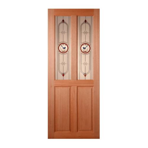 MAZTERDOOR ประตูกระจกสยาแดง   ขนาด 80x170 cm. SS-02/1