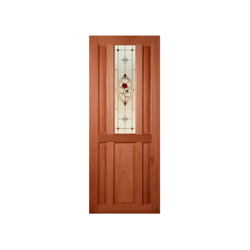 MAZTERDOOR ประตูกระจกสยาแดง  ขนาด 40x150 cm.  SL-01/3