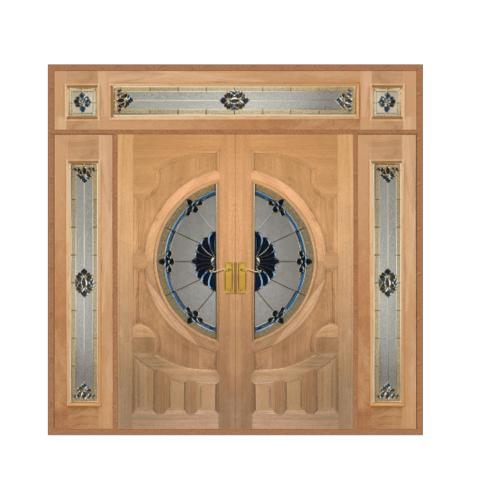 MAZTERDOOR SET 4  ไม้จาปาร์การ์    ขนาด 240x245 cm. VANDA-06