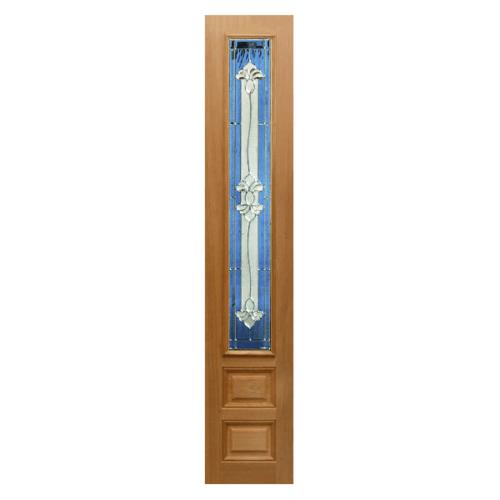 MAZTERDOOR ประตูกระจกไม้สยาแดง   ขนาด 40x160 ซม. JAMINE-09