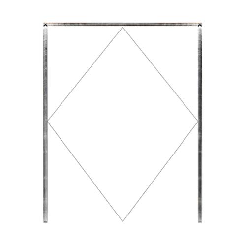 MAZTERDOOR วงกบบานสไลด์ไม้เนื้อแข็ง  ขนาด 320x200cm.