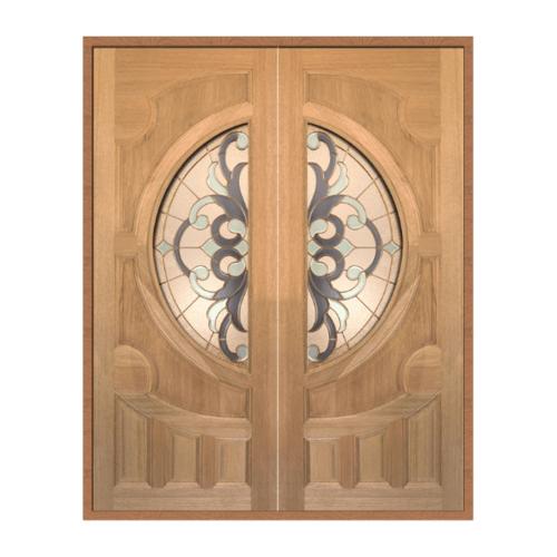 MAZTERDOOR SET 1 ประตูสยาแดง ขนาด 160x200 ทำสี  VANDA-03