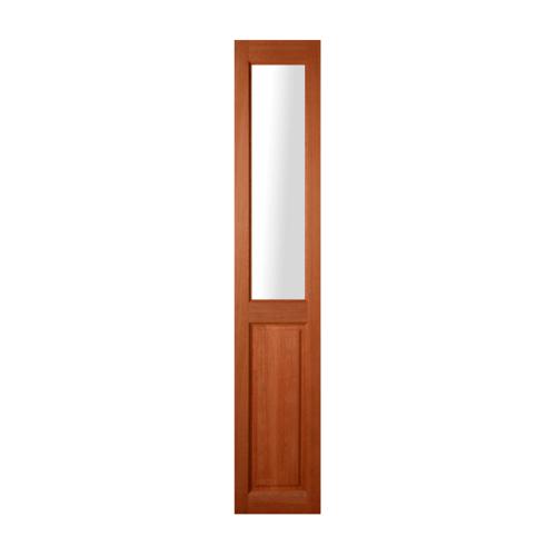 MAZTERDOOR ประตูกระจกสยาแดง (กระจกใส) ขนาด 40x200 cm. SL