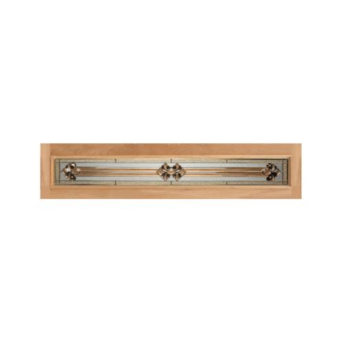 MAZTERDOOR กระจก  ขนาด 20x132 cm.  JASMINE-04