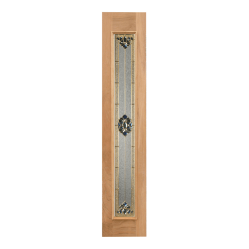 MAZTERDOOR ประตูกระจกไม้สยาแดง ขนาด 54x200cm.  JAMINE-05