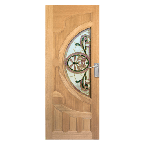 MAZTERDOOR ประตูกระจกสยาแดง  ขนาด 90x200cm.  VANDA-10