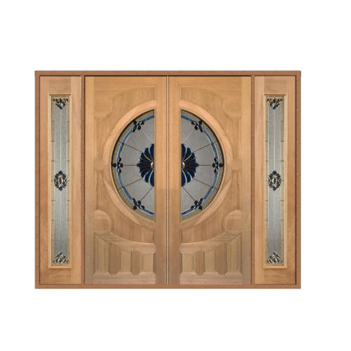 MAZTERDOOR ประตู สยาแดง 260x200cm. SET 3  VANDA-06