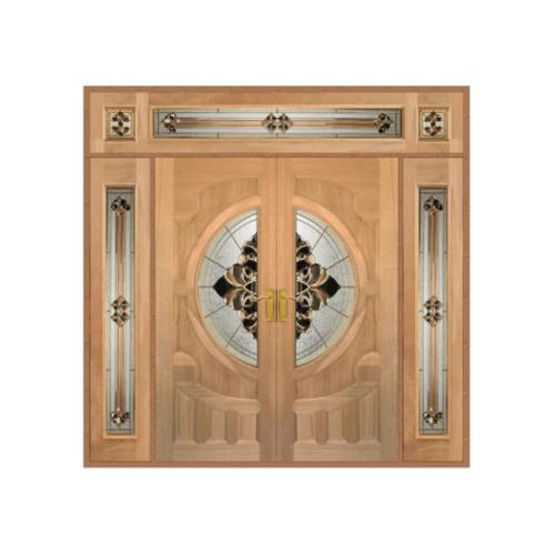 MAZTERDOOR SET 4 ประตูสยาแดง  240x300cm. VANDA-05