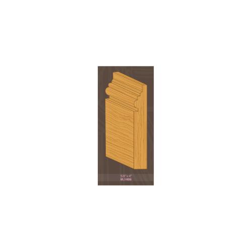 MAZTERDOOR ไม้บัวเปอร์เซีย M.1406 พื้น2ตุ่ม 5/8x4x4.00cm. ไม้บัวเปอร์เซีย M.1406พื้น2ตุ่ม 5/8x4x4x4.00cm.