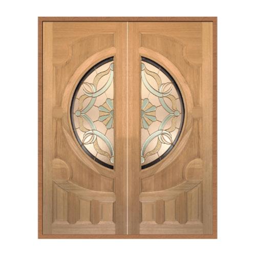 MAZTERDOOR SET 1 ประตูกระจกจาร์ปาการ์  160X200 cm. VANDA-02