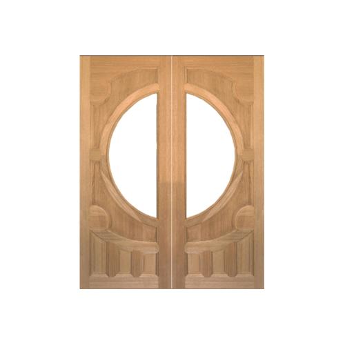MAZTERDOOR ประตูไม้สยาแดง  70X200 cm.(ไม่รวมกระจก) VANDA