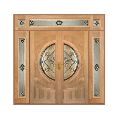 MAZTERDOOR SET 4 ประตูกระจกไม้นาตาเชีย ขนาด 240X265 cm.(90) VANDA-02