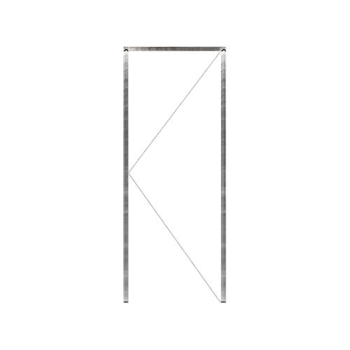 MAZTERDOOR วงกบประตูไม้เนื้อแข็ง  ขนาด90X220 cm.