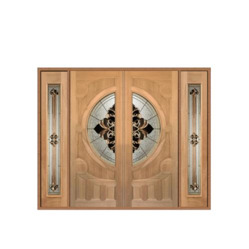 MAZTERDOOR SET 3 ประตูกระจกไม้จาปาร์การ์ขนาด 240x200 cm.  VANDA-05