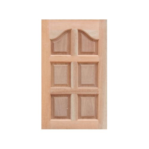 MAZTERDOOR หน้าต่างไม้สยาแดง (ปีกนกทึบ )  ขนาด50X100 cm.