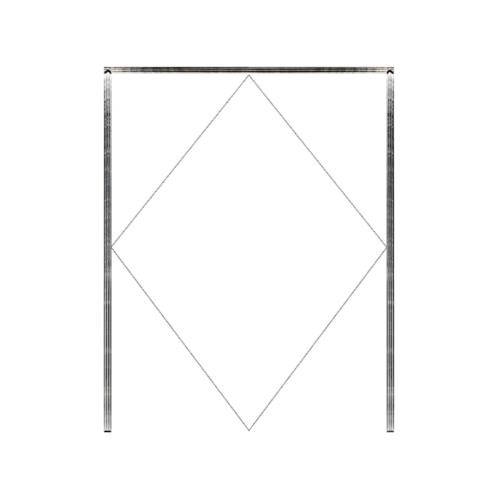 MAZTERDOOR วงกบประตูไม้เนื้อแข็ง  ขนาด120x200 cm.
