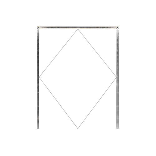 MAZTERDOOR วงกบประตูไม้เนื้อแข็ง  ขนาด120X220cm. SET1