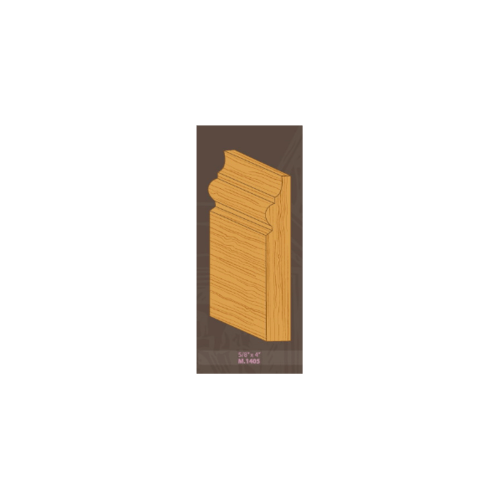 MAZTERDOOR ไม้บัวไม้เปอร์เชียพื้นตุ้ม M.1405 5/8x4x2.50m. ไม้บัวไม้เปอร์เชียพื้นตุ้ม M.1405 5/8x4x2.50m.