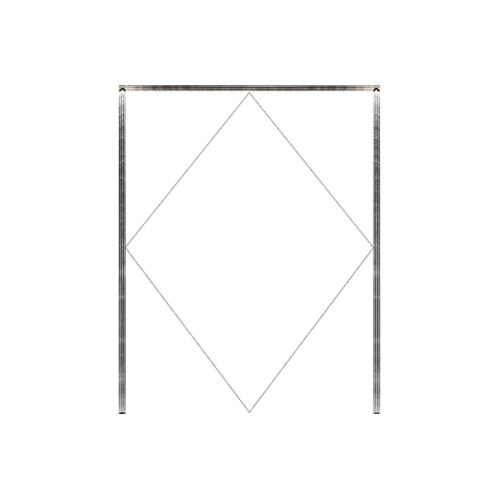 MAZTERDOOR วงกบประตูไม้เนื้อแข็ง  ขนาด160x220cm. SET 1