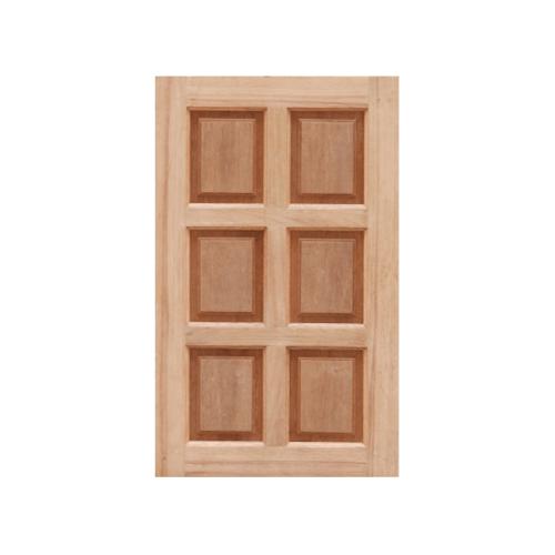 MAZTERDOOR หน้าต่างไม้สยาแดง บานทึบ 6ฟัก ขนาด  60X100cm.  WD-07