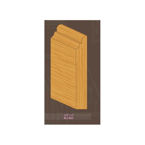 MAZTERDOOR ไม้คิ้วไม้เปอร์เชีย M.1407 5/8x4x2.40m. MAZTERDOORS M.1407