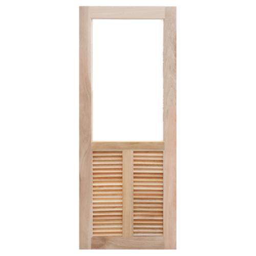 Masterdoors ประตูกระจกไม้สยาแดง   ขนาด 90X220 cm. MD-09