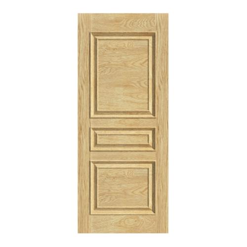 Masterdoors ประตูไม้สยาแดง บานทึบลูกฟัก ขนาด 90x200cm.   SK-01