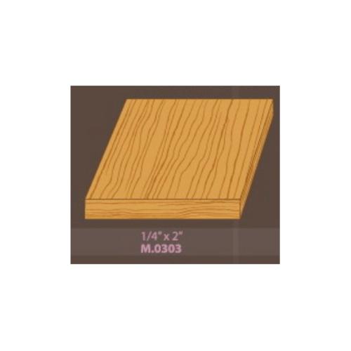 MAZTERDOOR ไสเรียบ-ไม้สัก(ไสเรียบ)M.0303 ขนาด 1/4x2x6 ฟุต ไสเรียบ-ไม้สัก(ไสเรียบ)M.0303 ขนาด 1/4x2x6 ฟุต