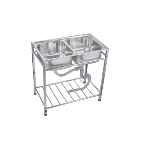 TECNO* อ่างล้างจานแบบมีขาตั้ง  sink TNS STT 8248 SS sink TNS STT 8248 SS