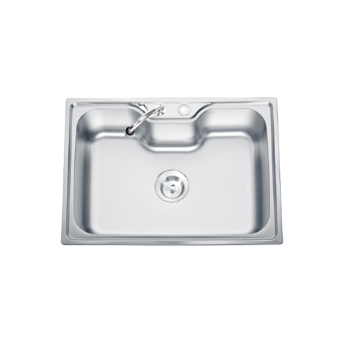 TECNOGAS อ่างล้างจาน 1หลุม  Sink TNS 10700 SS สเตนเลส