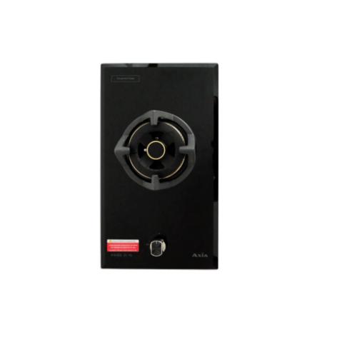 AXIA เตาแก๊สหน้ากระจกแบบฝัง 1 หัวเตา ROSEE 31-1G   สีดำ